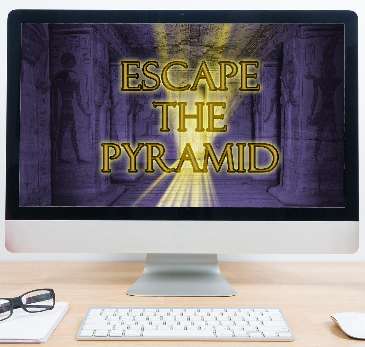 Virtual Escape -Theme Virtual Treasure Hunt -Theme Egyptian - Escape the Pyramid copy