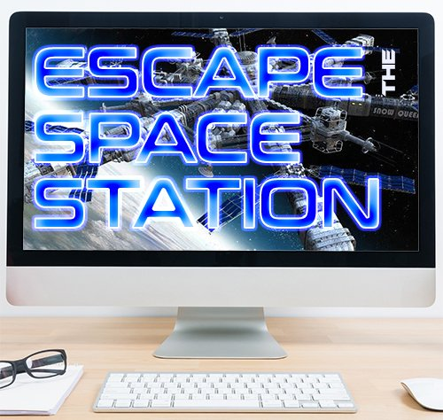 Virtual Escape -Theme Virtual Treasure Hunt -Theme Sci-fi - Escape the space station