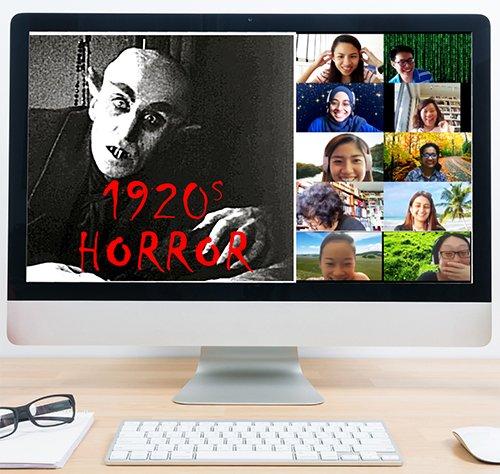 Virtual Treasure Hunt -Theme 1920 Horror