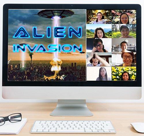 Virtual-Treasure-Hunt-Theme-Alien-invasion