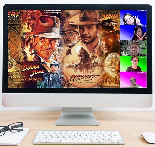 Virtual Treasure Hunt -Theme Indy Jones_