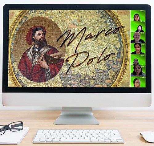 Virtual Treasure Hunt -Theme Marco Polo